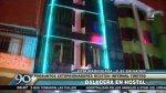 Balacera en hostal: extorsionadores atacan negocio en VES - Noticias de herido de bala