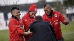 Chile practicó entre risas tras eliminar a Perú de Copa América - Noticias de victoria