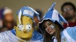 Argentina vs. Paraguay: así se vive en el estadio de Concepción - Noticias de diego armando maradona