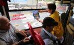 Campaña por asiento reservado: multarán a unidades infractoras
