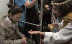 """Un Jesús """"supercívico"""" en el metro de México [VIDEO]"""