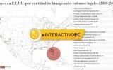 Estados Unidos y Cuba: casi dos siglos de migración en cifras