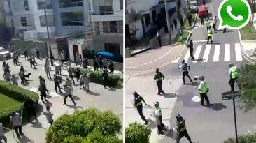 El enfrentamiento entre serenos de San Isidro y Magdalena