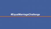 Campaña #EqualMarriageChallenge fue creada por peruanos