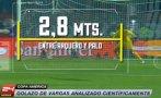 Copa América: análisis científico del golazo de Vargas a Perú