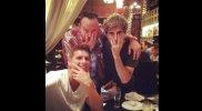 Christian Meier coincidió con Mikel Erentxun en restaurante
