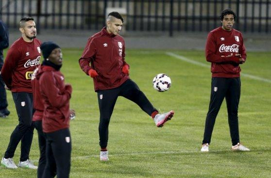 Selección peruana: así entrenó el equipo en Concepción (FOTOS)