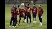 Selección peruana entrenó en Concepción... otra vez sin Farfán