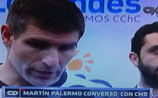 Martín Palermo elogió crecimiento de la selección y a Guerrero