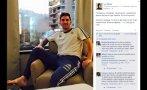 Lionel Messi espera así la final de la Copa América