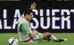 'Chicharito' Hernández se lesionó y se perdería la Copa de Oro