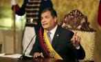 """Ecuador: Correa denuncia planes """"golpistas"""" en marcha opositora"""