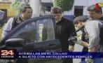 Callao: sicarios matan a hombre cuando viajaba con su familia