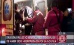 Falleció taxista golpeado por pasajeros que se negaron a pagar