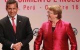 Canciller no descarta reunión informal entre Humala y Bachelet