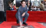 Paul Rudd y su estrella en el paseo de la fama de Hollywood