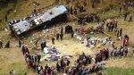 Accidente en Áncash: conductor excedió tiempo al volante - Noticias de luis picon