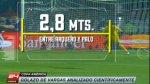 Copa América: análisis científico del golazo de Vargas a Perú - Noticias de paolo guerrero
