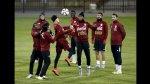 Selección peruana entrenó en Concepción... otra vez sin Farfán - Noticias de estadio nacional