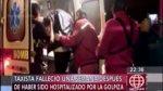 Murió taxista tras golpiza de pasajeros que se negaron a pagar - Noticias de fallecio