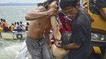 Mueren 36 personas tras naufragio de un ferry en Filipinas - Noticias de accidente en chincha