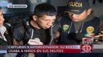 SJL: cayó extorsionador con una granada y fotos de sus víctimas - Noticias de capturan