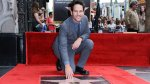 Paul Rudd y su estrella en el paseo de la fama de Hollywood - Noticias de ron burgundy