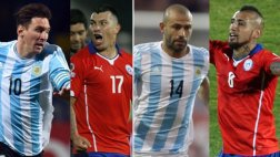 Messi vs. Medel y Mascherano vs. Vidal: los duelos de la final