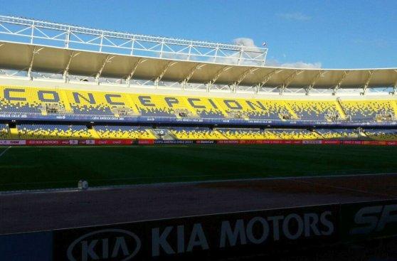 Así es el Ester Roa, el estadio en el que jugará Perú (FOTOS)