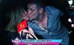 Alejandra Baigorria y Pancho Rodríguez ya se besan en público