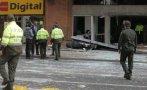 Dos atentados sacuden el norte y el occidente de Bogotá