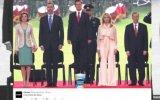 La foto viral que se burla de la estatura de Enrique Peña Nieto