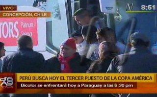 """Juan Vargas se """"robó"""" a un niño y lo subió al bus de Perú"""