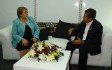 Humala y Bachelet conversaron durante cumbre en Paracas