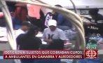 Cae banda integrada por policía por cobro de cupos en Gamarra