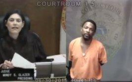 Se volvieron a ver, ella como juez y él como ladrón [VIDEO]