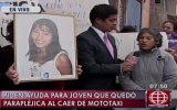 VES: joven quedó parapléjica tras sufrir asalto en mototaxi