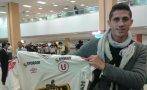 Universitario: llegó Henry Giménez, su nuevo delantero