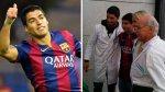 Luis Suárez regaló camiseta de Barcelona a joven con cáncer - Noticias de luis suarez