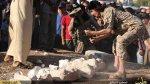 El Estado Islámico destruye estatuas milenarias en Palmira - Noticias de piezas arqueologicas