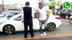 Jugador Jean Deza se estacionó en zona para discapacitados - Noticias de cometa