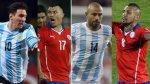 Messi vs. Medel y Mascherano vs. Vidal: los duelos de la final - Noticias de accidente de transito