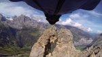 El salto más extremo en 'Wingsuit' entre dos montañas [VIDEO] - Noticias de separaciones de famosos
