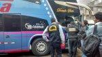 La Victoria: hallan 15 kilos de droga en bus interprovincial - Noticias de luis valdiviezo