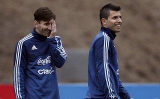 Agüero contó cómo espera Messi la final de la Copa América