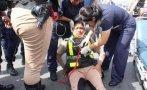 Chimbote: policía fénix que dirigía el tránsito fue atropellada