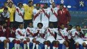 Perú fue premiado con medallas de bronce en la Copa (VIDEO)