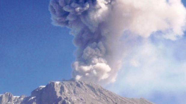 Volcán Ubinas: se registró tercera explosión en esta semana