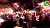 WhatsApp: hinchas celebran el logro de Perú en la Copa América