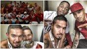 Selección peruana: así celebraron jugadores en el vestuario
